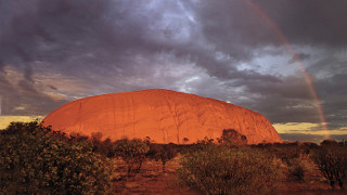 Tadelakt Color  Ayers Rock